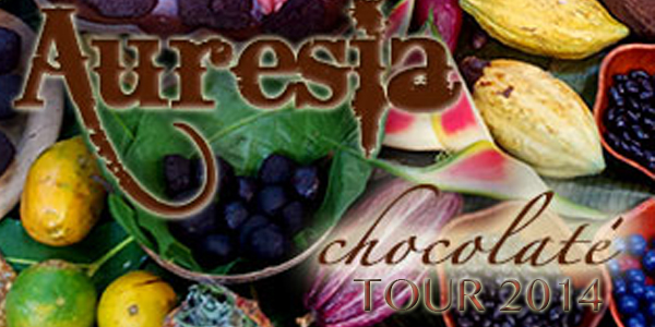 image for article Auresia is Currently Receiving Bookings for Her National and Int'l CHOCOLATE TOUR!