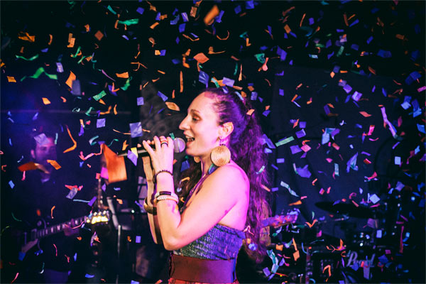 live show confettis
